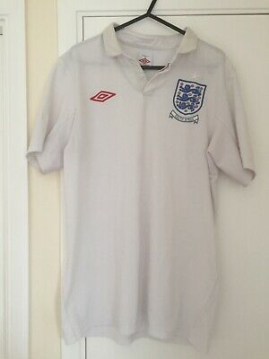 £20 • Buy England 2010 World Cup South Africa Special Edition Home Shirt Size 38 M