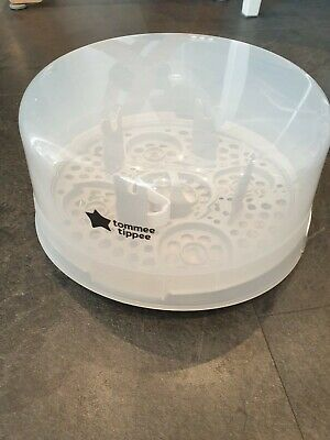 £4 • Buy Tommee Tippee Closer To Nature Microwave Steam Steriliser