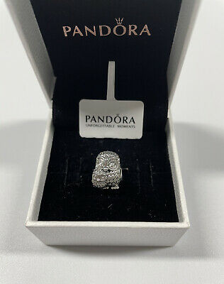 £13.99 • Buy ALE S925 Genuine Pandora Mother Owl And Baby Owl Charm With Gift Box