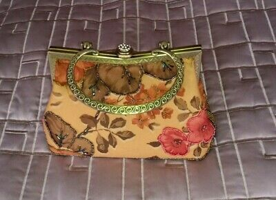 £12 • Buy Leko Evening Bag Beaded With Chain - Immaculate Clutch