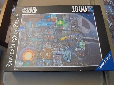 £9.99 • Buy Ravensburger Star Wars Where's Wookie Death Star 1000 Jigsaw Puzzle