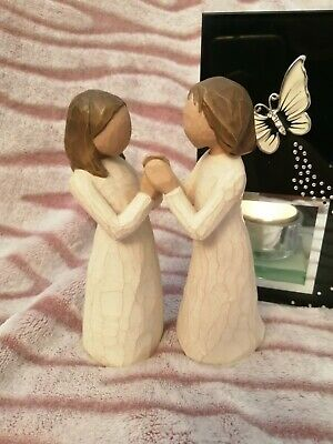 £10.50 • Buy 💕 Willow Tree  Figurine Sisters By Heart. Excellent Used Condition. Unboxed.