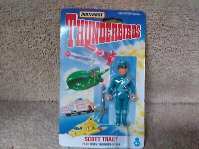 £3 • Buy Matchbox Thunderbirds Figure Scott Tracy Carded, Excellent