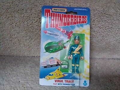 £3 • Buy Matchbox Thunderbirds Figure Virgil  Tracy Carded, Excellent