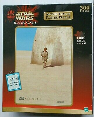 £3.99 • Buy STAR WARS EPISODE 1 MOVIE TEASER POSTER 300 Pieces Jigsaw Puzzle SEALED