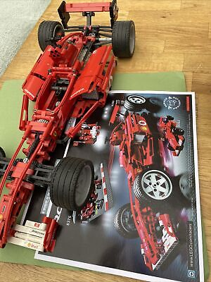 £21.70 • Buy LEGO Racers Ferrari 1:10 8386 Complete With Instructions (no Box, Used)