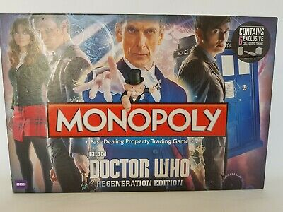 £11.99 • Buy Monopoly Doctor Who Regeneration Edition By Hasbro Complete
