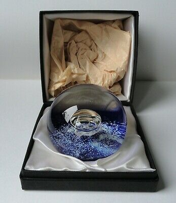 £49.99 • Buy Selkirk Glass Atlantis Paperweight 1979 Ltd Ed. Holmes Boxed With Cert.