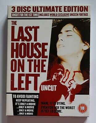 £5.99 • Buy The Last House On The Left Dvd (wes Craven) Uncut 3 Disc Ultimate Edition