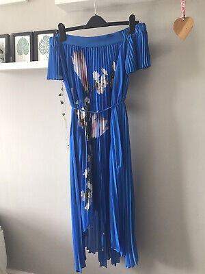 £10.50 • Buy Ted Baker Melma Maxi  Dress Size 2 Worn Once With Matching Clutch!!