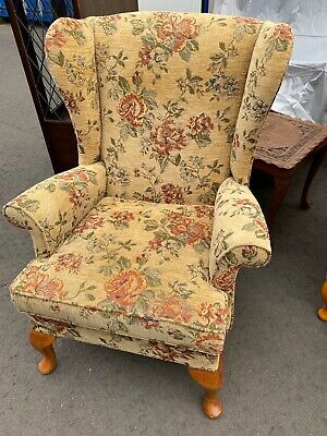 £300 • Buy Parker Knoll Lovely Armchair Chair Wingback Immaculate Antique Vintage