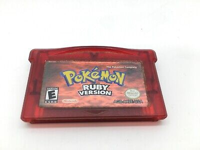 $70 • Buy Pokemon Ruby Version (GBA) Authentic Cartridge (No Case) Dry Battery - TESTED