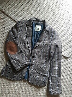 £6 • Buy H & M LOGG CHECKED RIDING STYLE JACKET Size 32   Size 4