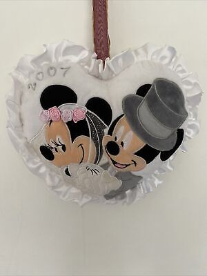 £20 • Buy Minnie And Mickey Mouse Wedding Pillow 2007