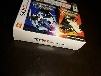 $250 • Buy Pokemon Ultra Sun And Moon Veteran Trainers Dual Pack Nintendo 3DS New Sealed