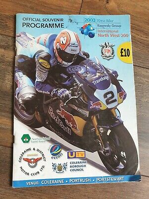 £9.99 • Buy British Superbikes International North West 200 Official Programme 10th May 2003