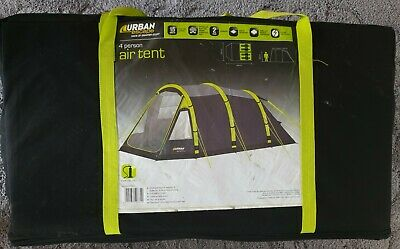 £270 • Buy Urban Escape 4 Person Berth Inflatable Air Tent Large Family Tent