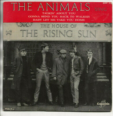 £5.58 • Buy French EP 1964 THE ANIMALS The House Of Rising Sun  SRF 1571