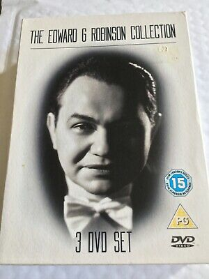 £9.99 • Buy The Edward G Robinson Collection,3 Film,used,