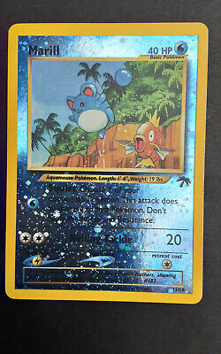 $1 • Buy Marill 11/18 Southern Island Collection Reverse Holo Pokemon Card Played