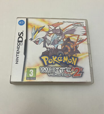 $61 • Buy Pokemon: White Version 2 (Nintendo DS, 2012) Authentic And Complete W/ Manual
