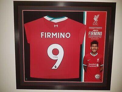 £200 • Buy Hand Signed Firmino Liverpool Shirt