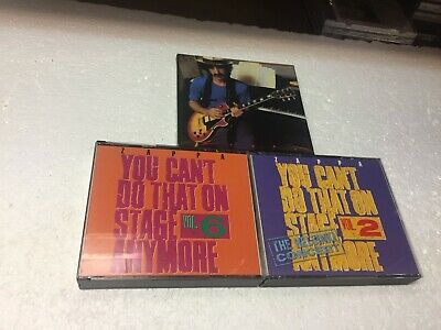 £18.32 • Buy Zappa 3  Box Set CDs  You Can't Do That On Stage #2&6 Plus Shut Up And Play