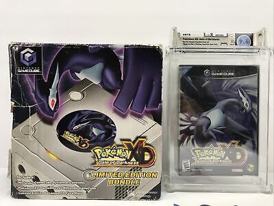 $3500 • Buy Pokemon XD Gale Of Darkness Not For Resale Pack In WATA 9.6 A & Console Bundle !