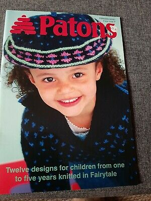 £2 • Buy Patons Childrens Knitting Patterns Book