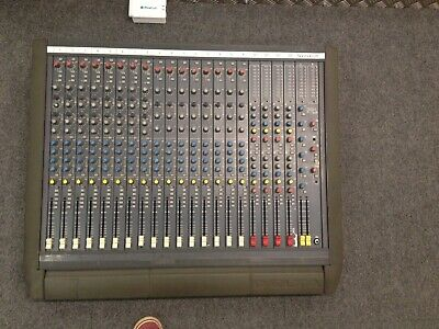 £250 • Buy Soundcraft Broadcasting Mixing Desk With Power Amp.