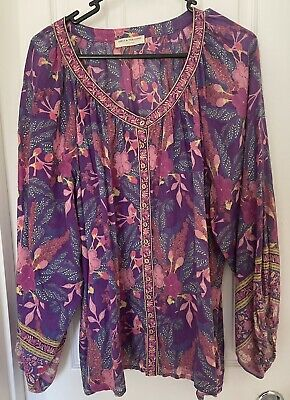 AU100 • Buy Spell Bianca Blouse Large