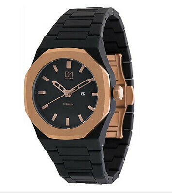 £69.49 • Buy D1 Milano PR03 Polycarbonate Men's Watch 40mm Dia Analog . Brown And Rose Gold