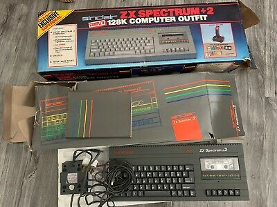 £63 • Buy Sinclair ZX Spectrum 128k + 2 Boxed Original Vintage With Many Classic Games