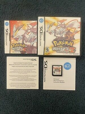 $123.97 • Buy AUTHENTIC Pokemon White Version 2 (Nintendo DS 2012) Tested W/ Manual & Inserts