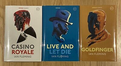 £145 • Buy JAMES BOND: Ian Fleming's Casino Royale, Live And Let Die, Goldfinger; FirstThus