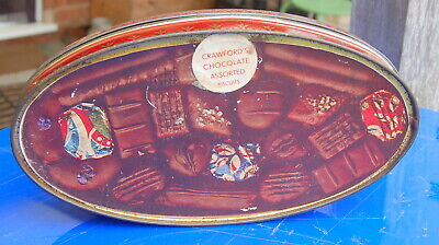 £6.99 • Buy Lovely Old Crawford's Biscuit Tin.....good Condition