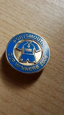 £1.99 • Buy Portsmouth FC Cup Winners 2008 Badge.