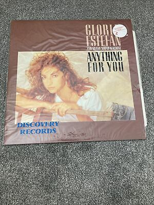 £3.75 • Buy Gloria Estefan And Miami Sound Machine Anything For You 12  Vinyl LP Record