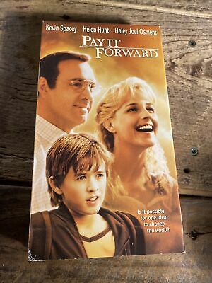 AU9.41 • Buy Pay It Forward VHS 2001 Kevin Spacey Helen Hunt