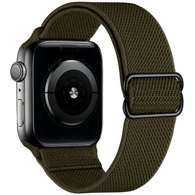 AU1.72 • Buy Solo Loop Nylon Band Strap For Apple Watch Series 6 5 4 3 2 1 SE 38/40/42/44mm