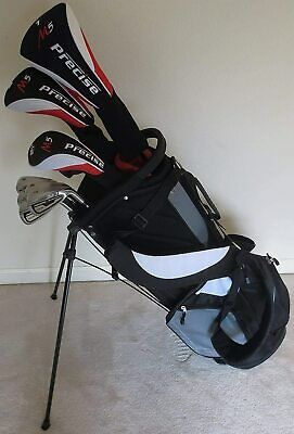 AU634.78 • Buy NEW Mens Complete Golf Club Set Driver Wood Hybrid Irons Putter Bag Right Handed