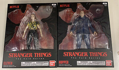 AU110.40 • Buy EXCLUSIVE Bandai Stranger Things The Void Series ELEVEN, HOPPER (NETFLIX) 6 Inch