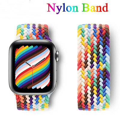 AU0.19 • Buy Nylon Loop Band For 38mm 40mm 42mm 44mm Apple Watch Straps Series 6 3 4 5 2 1 SE