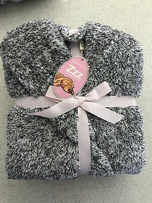 AU90 • Buy Peter Alexander Dressing Gown Charcoal Teddy S/M