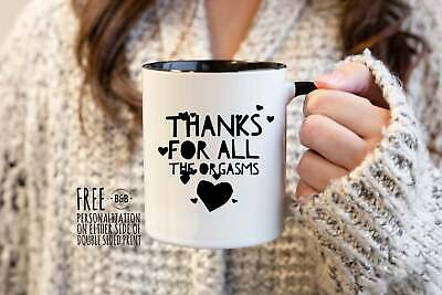 AU26.21 • Buy Naughty Valentines Day Gift For Him Just Because Gift For Boyfriend Coffee Mugs