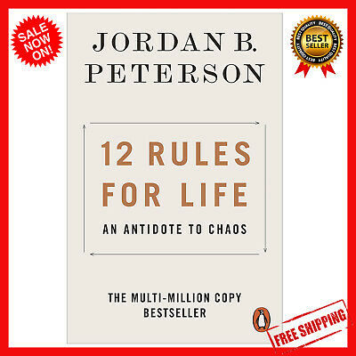 AU15.75 • Buy 12 Rules For Life By Jordan B. Peterson   Paperback Book   FREE SHIPPING NEW AU