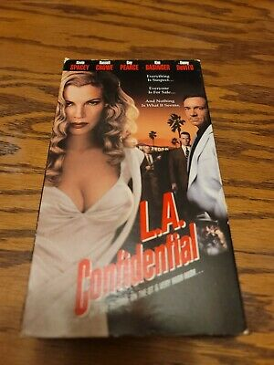 AU6.73 • Buy L.A. Confidential VHS  Kevin Spacey Kim Basinger Russell Crowe