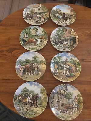 £45 • Buy Wedgewood - Life On The Farm Series - 8  Plates- Excellent Cond. Limited Edition