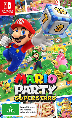 AU74.95 • Buy Mario Party Superstars Switch Game NEW PREORDER 29/10