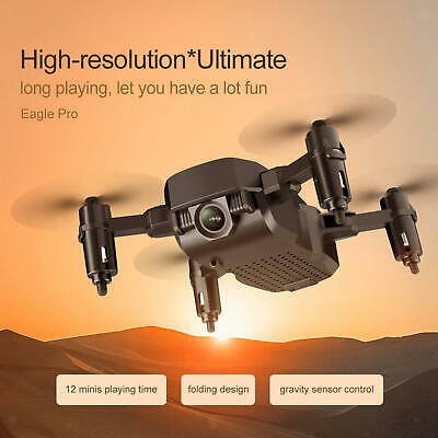 AU57.96 • Buy F86 Mini RC Drone GPS Drone Outdoor Toy Gift For Adults 4K Black Storage Bag